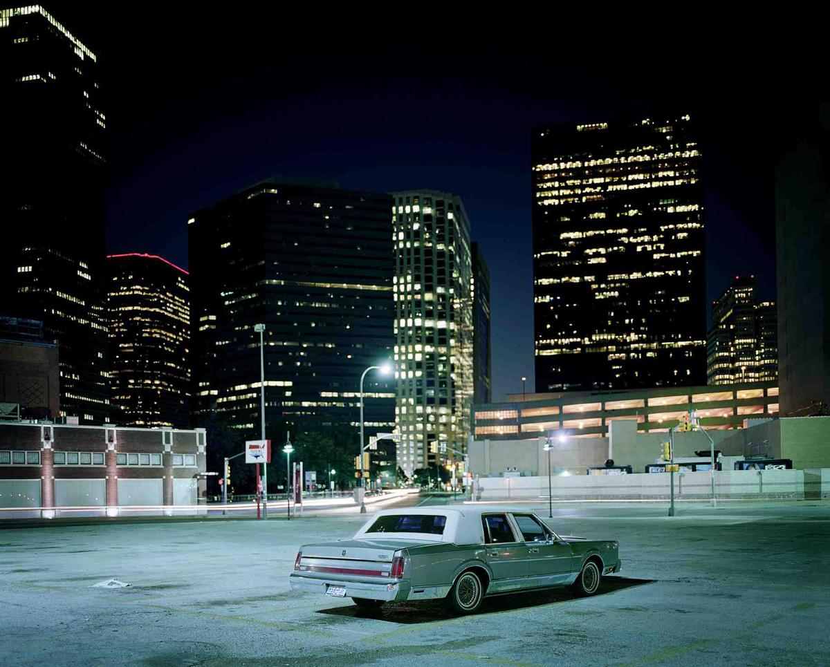 Car, Downtown Car Park, Dallas, Texas 2006