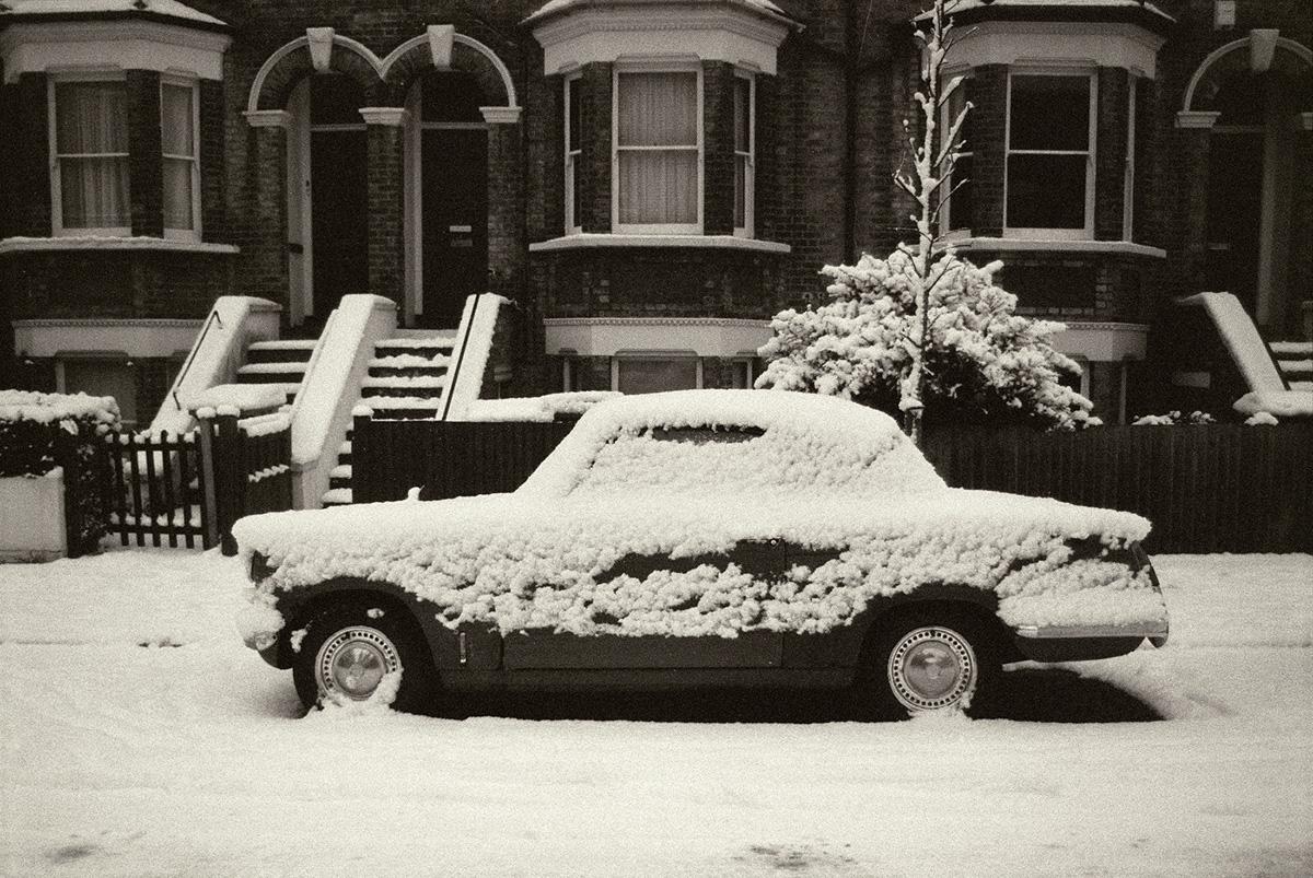 Snowy Car, Peckham