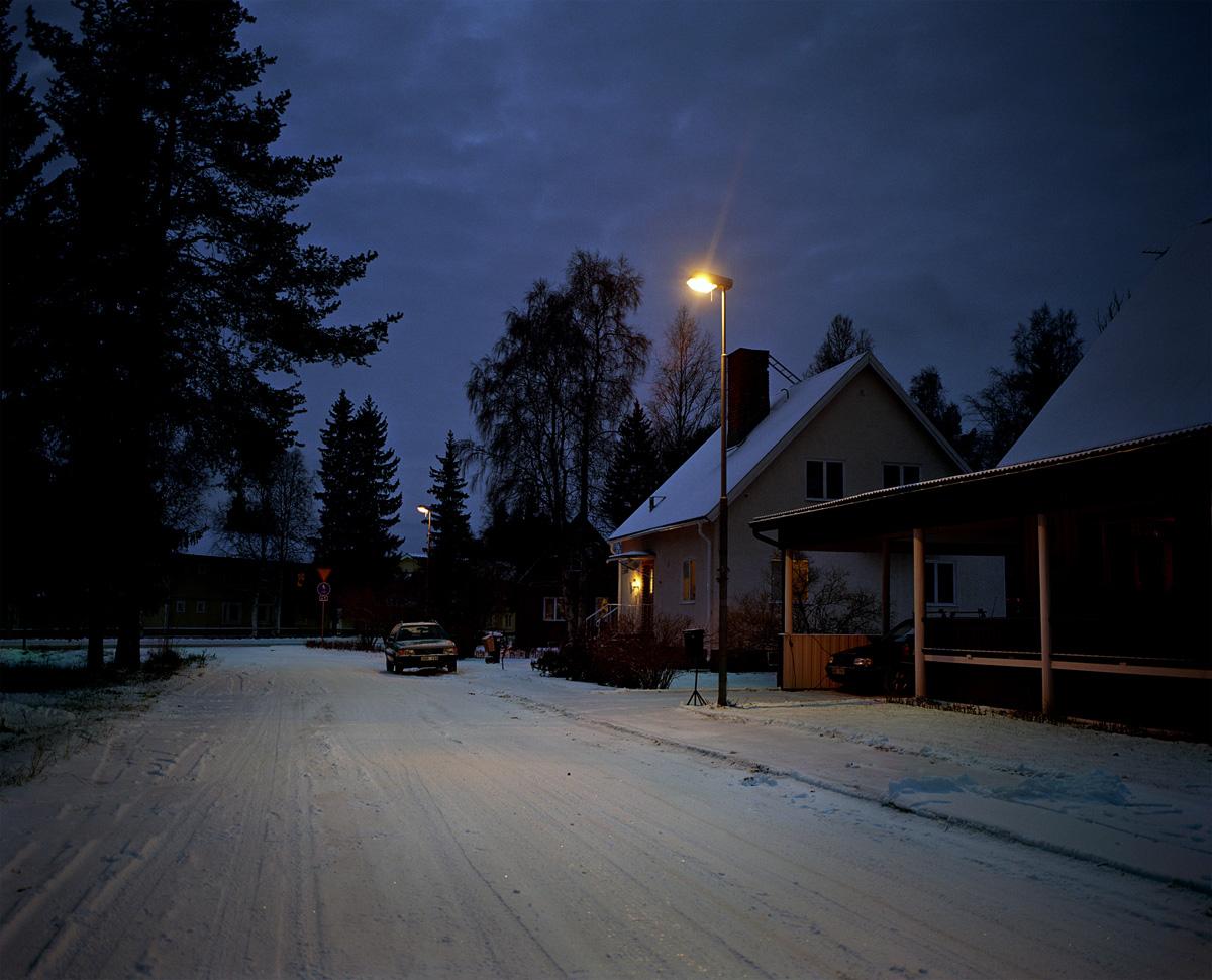 Snow-Scene 1, Sweden