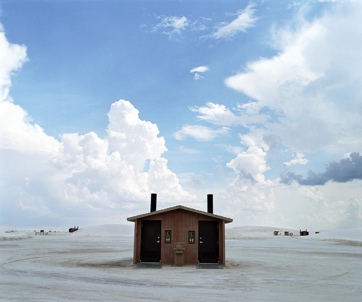 Hut, White Sands, New Mexico 2006