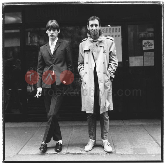 Paul Weller and Pete Townsend