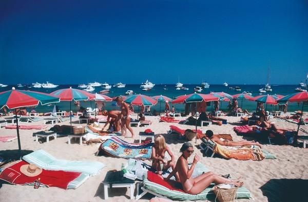 Beach at St. Tropez