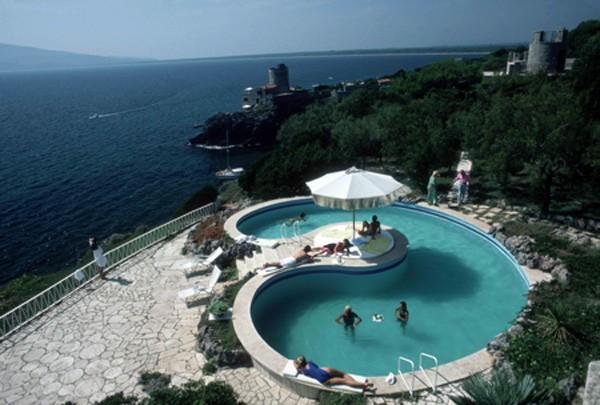 Pool at Villa Gli Arieti
