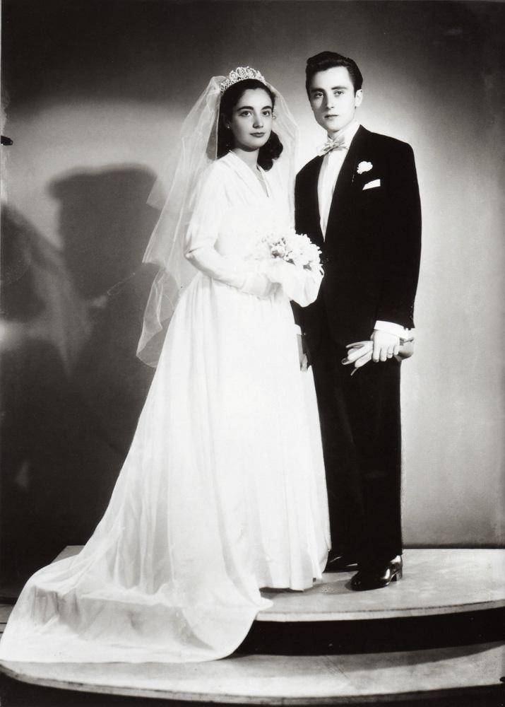 Bride and Groom, circa 1960s
