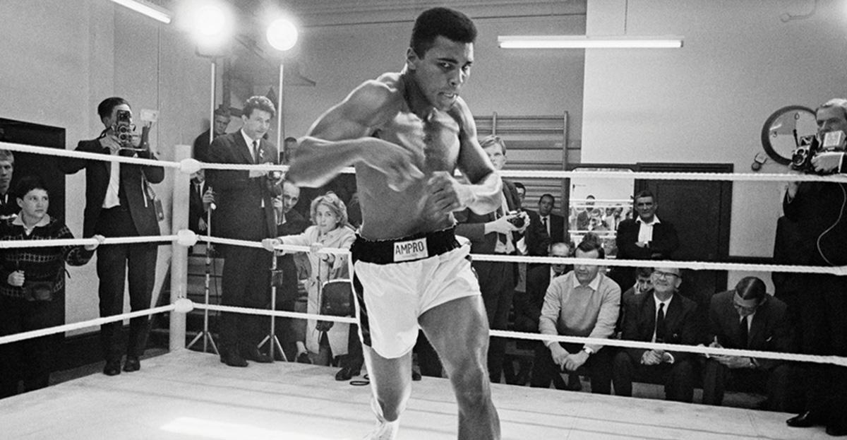 Ali in Training, 1966