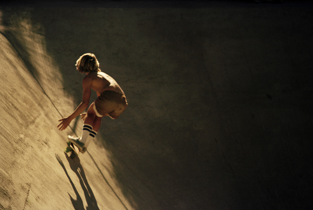 Canyon Sunset Ride, Hollywood Hills, 1976