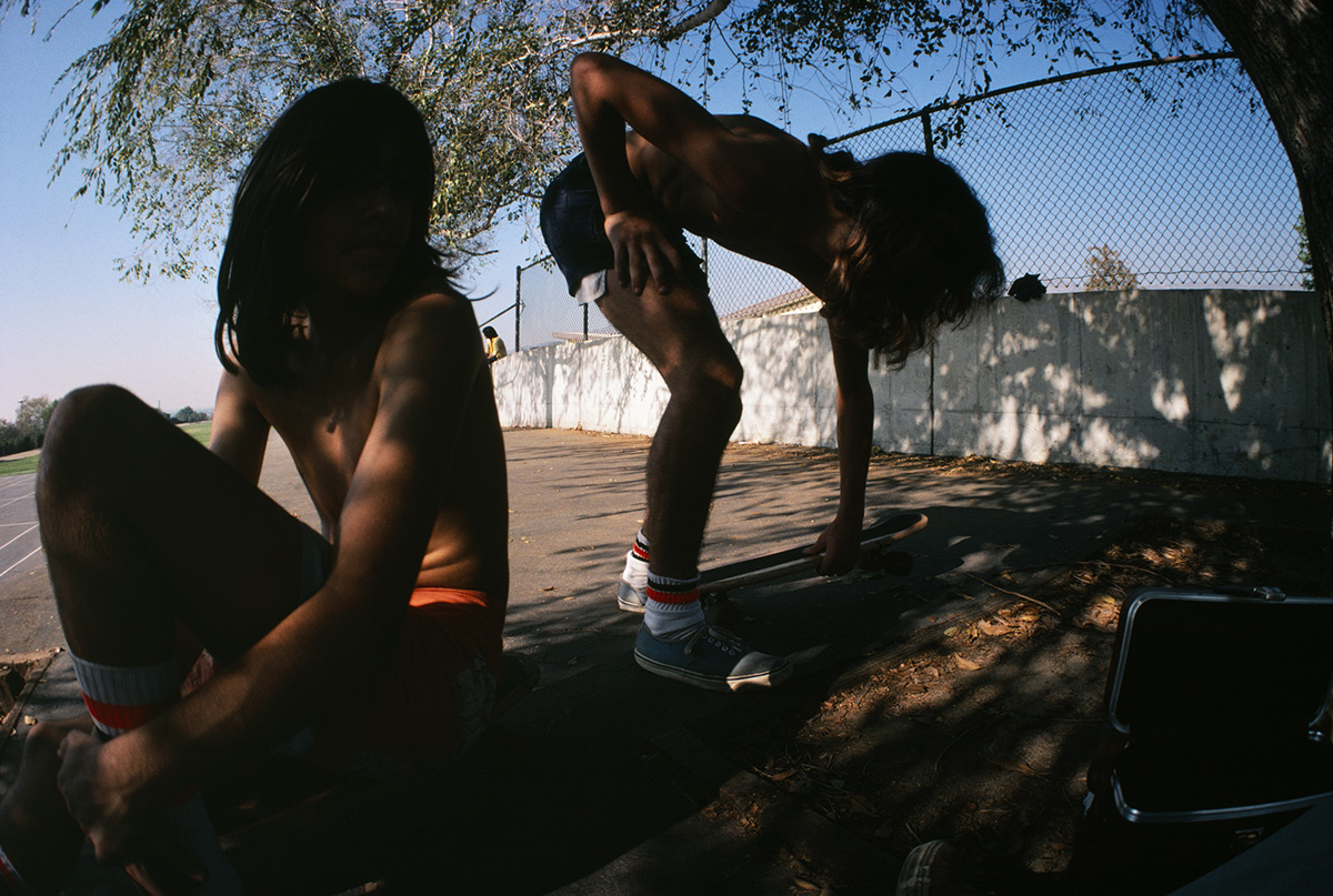 In the Shade, Westside Schoolyard, 1976