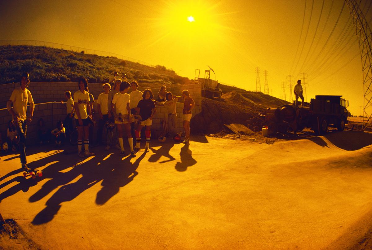 Skatepark Construction, Montebello, 1977
