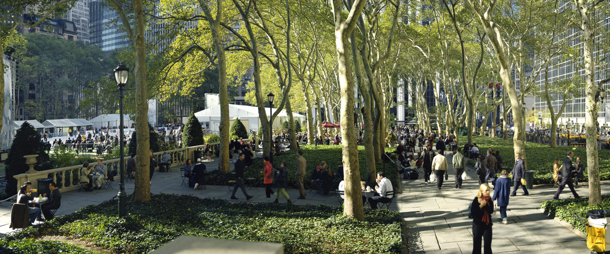 Bryant Park, Manhattan, 2005