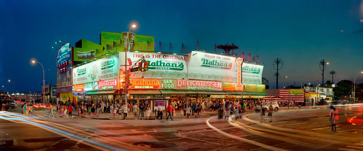 Nathan's (Coney Island series), 2010