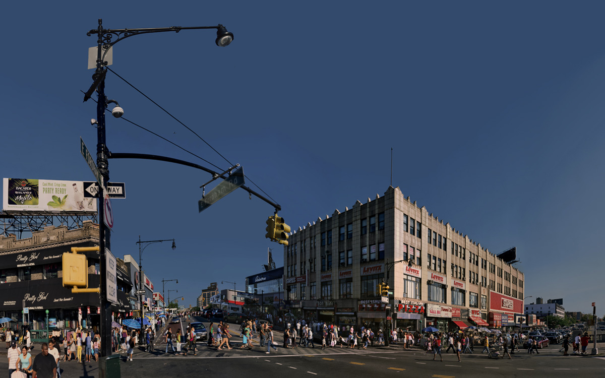 Fordham Square (Grand Concourse series), 2010