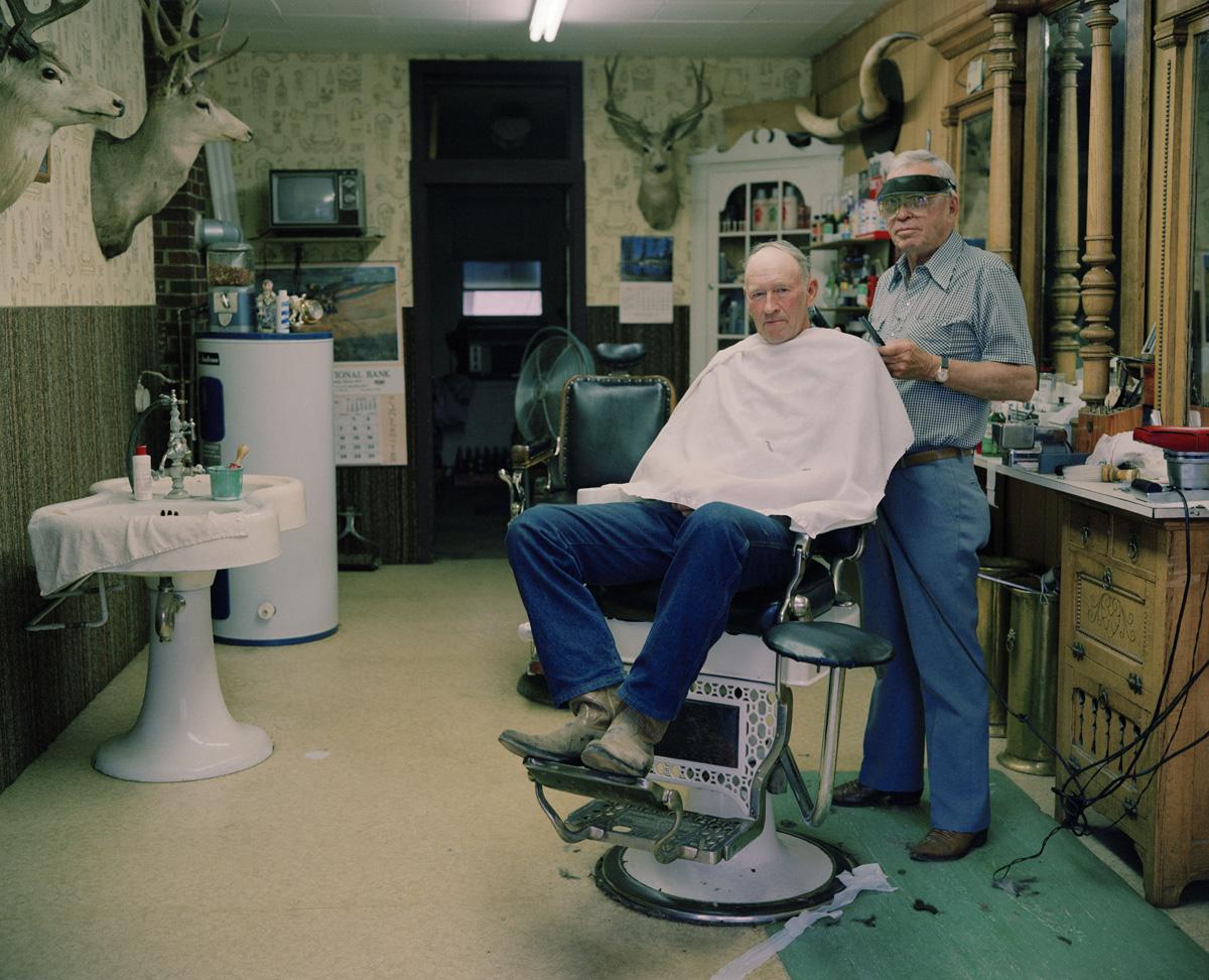 Barber Shop Portrait