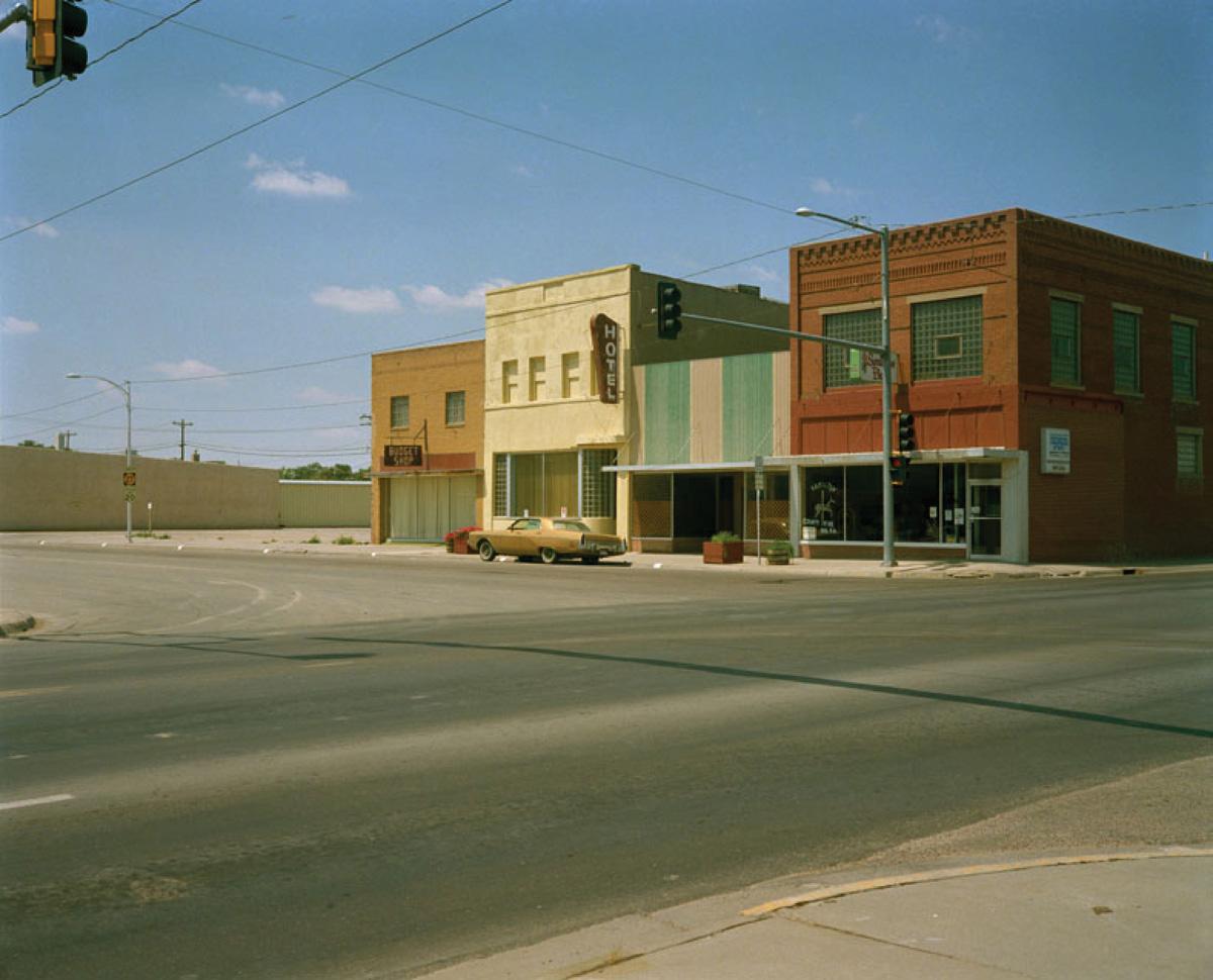 Gold Car Butte, Montana, 1986