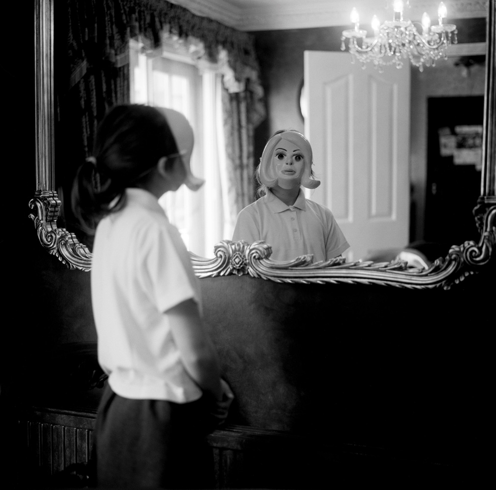 Girl, Mask & Mirror