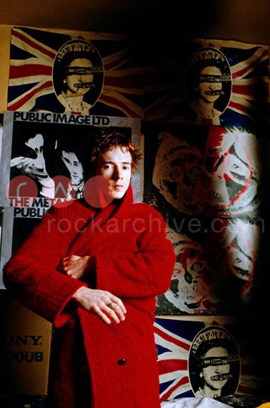 Sex Pistols (Johnny Rotten)