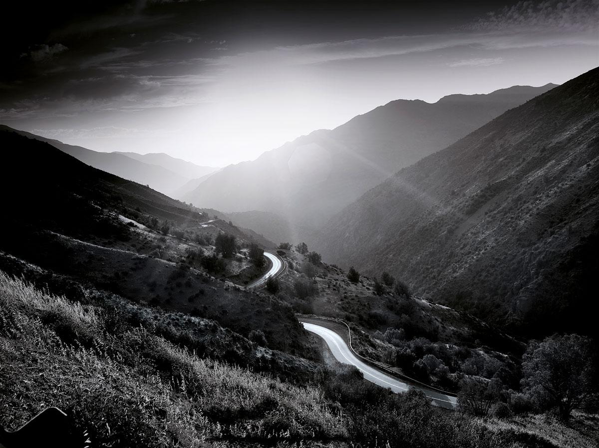 Sunlit Road, Chile, 2014