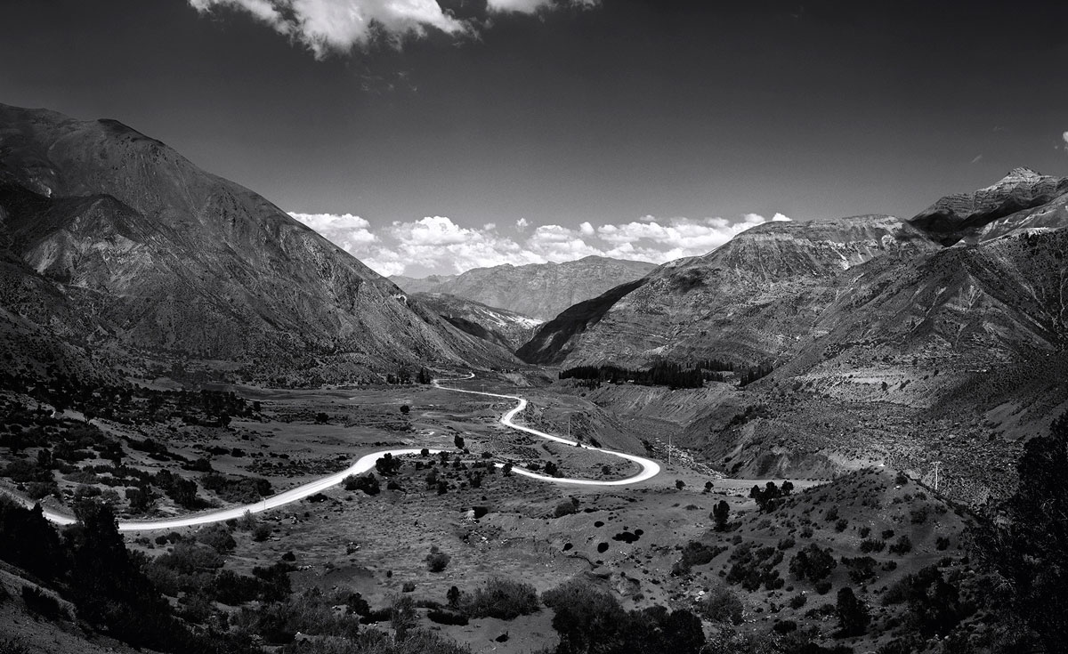 Winding Road, Chile, 2014