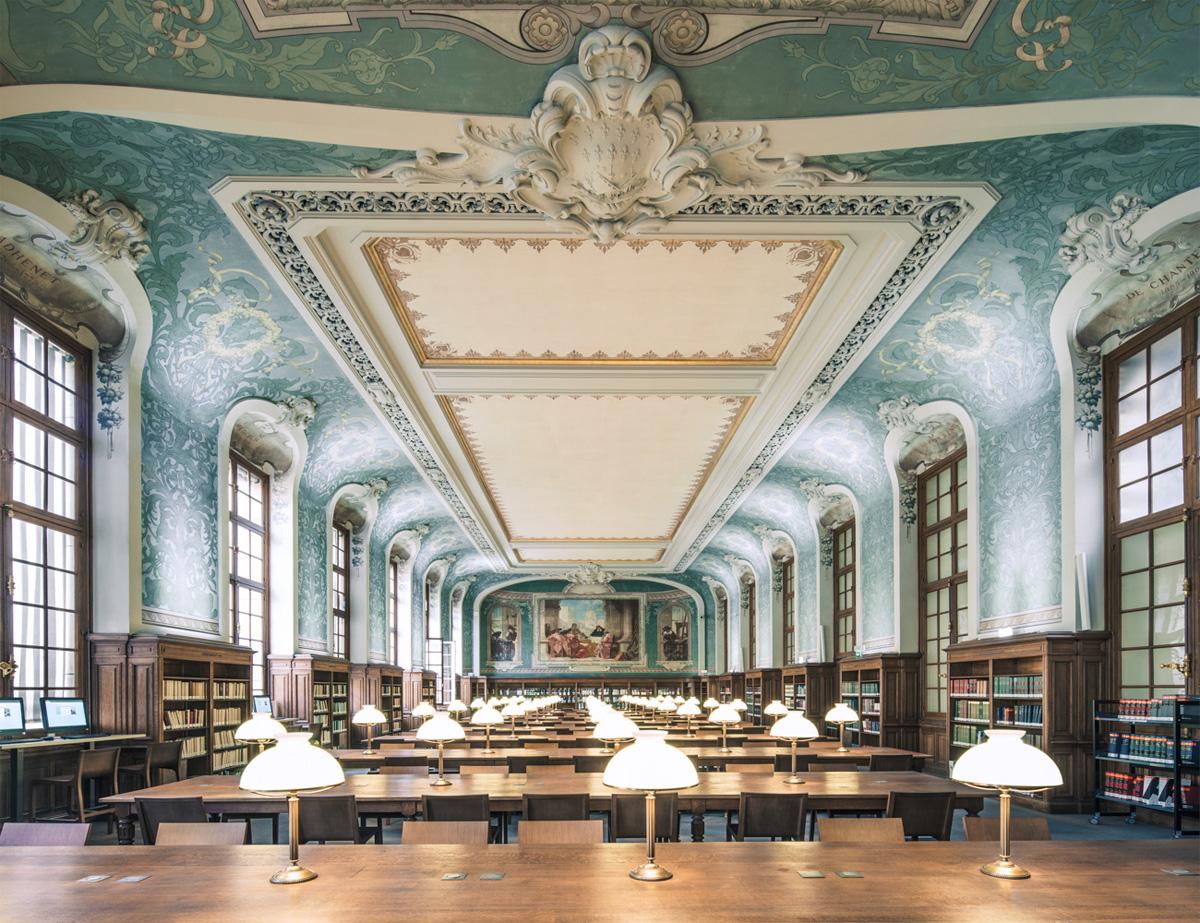The Bibliothèque interuniversitaire de la Sorbonne #2, Paris
