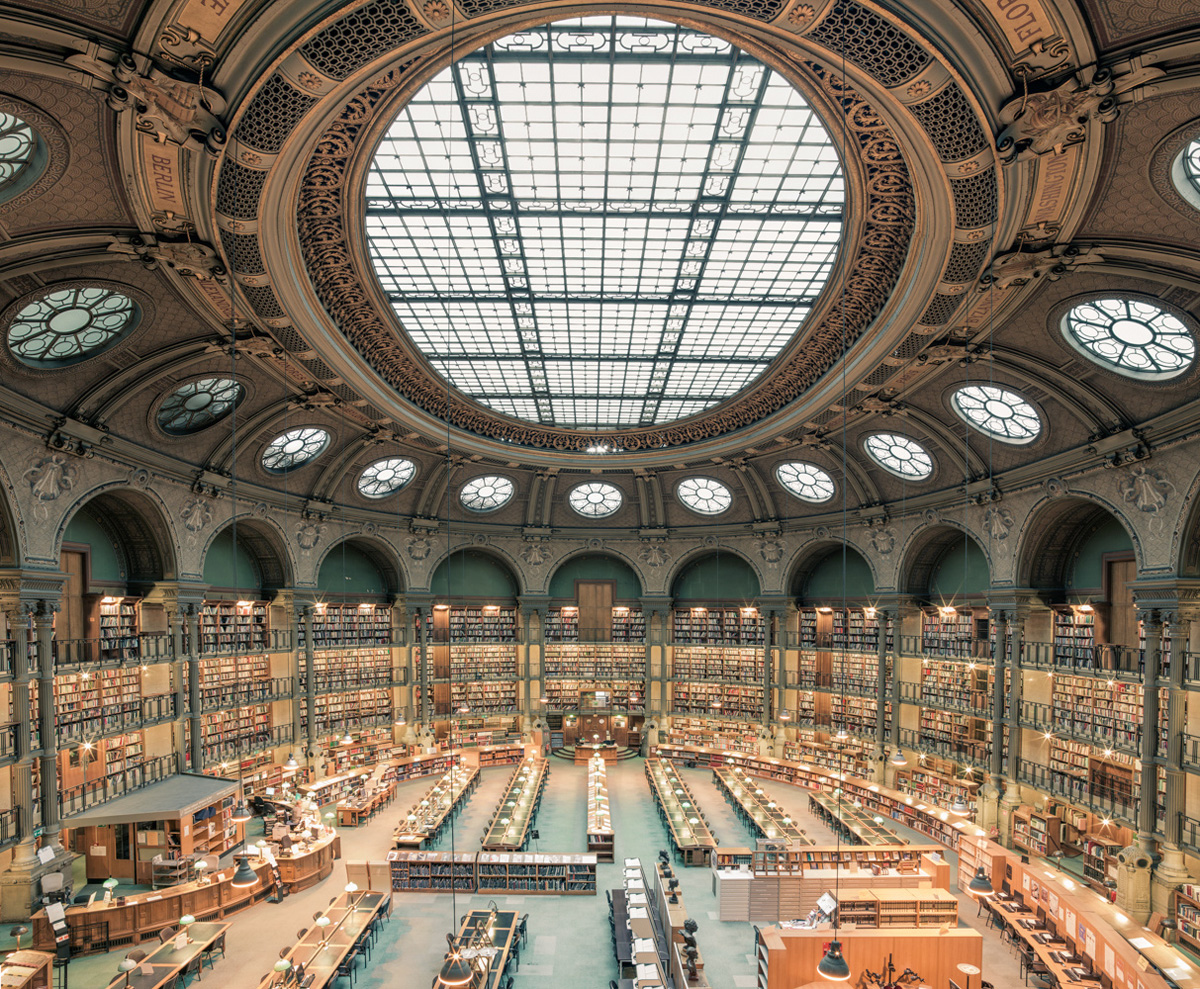 The Bibliothèque Nationale de France