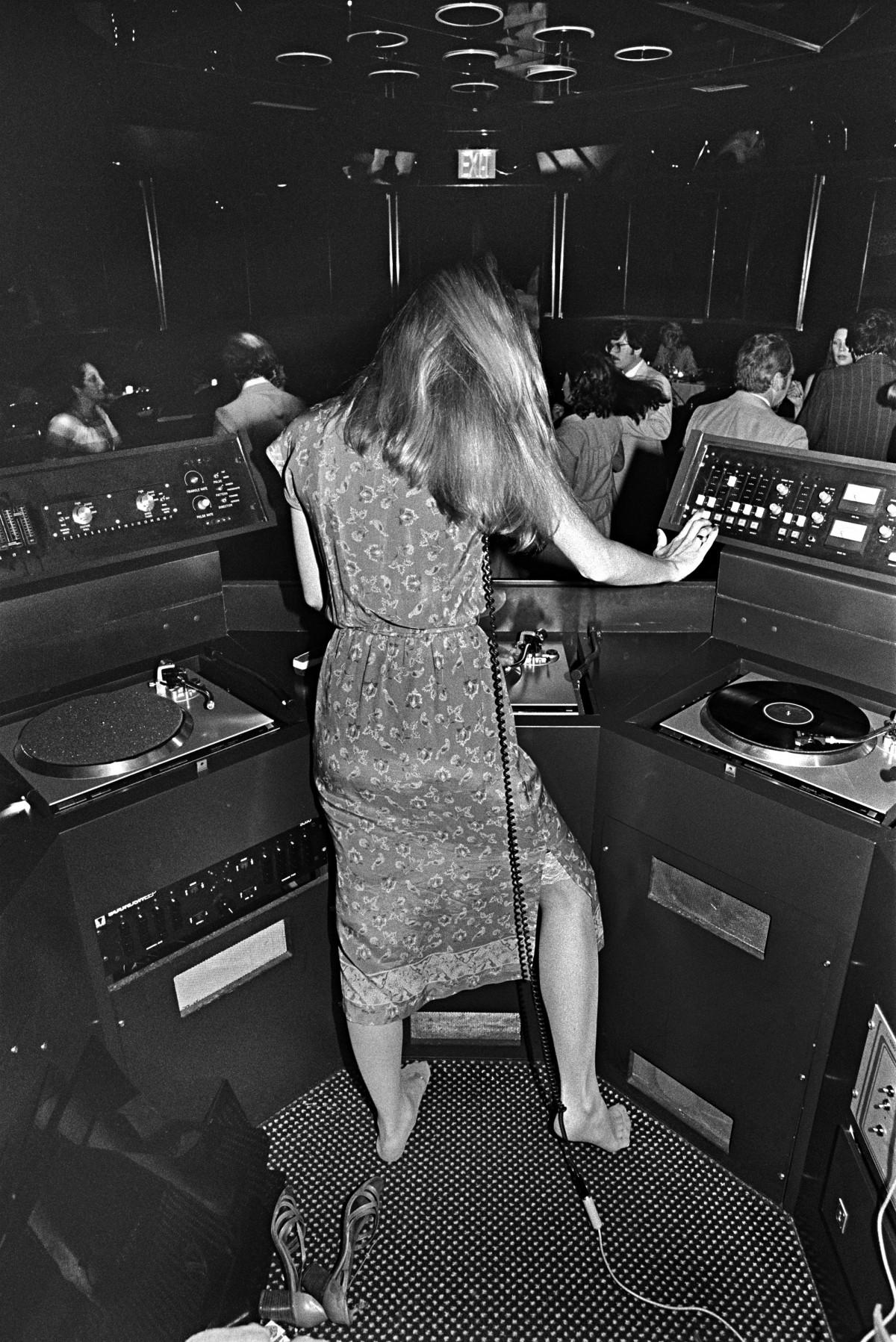 DJ at Sybil's, 1979