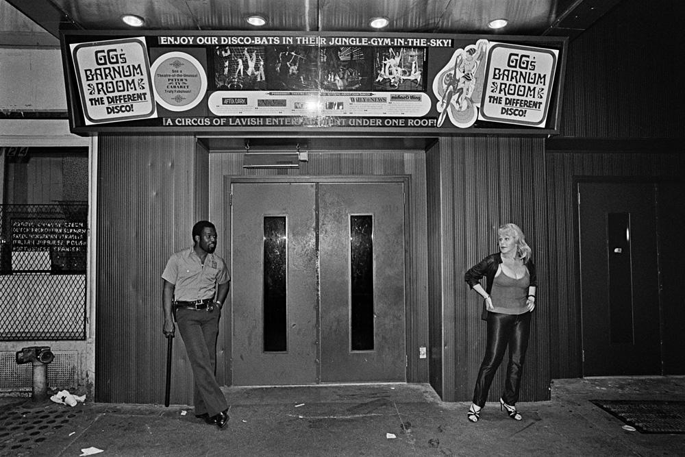 Barnum Room Entrance, 1979