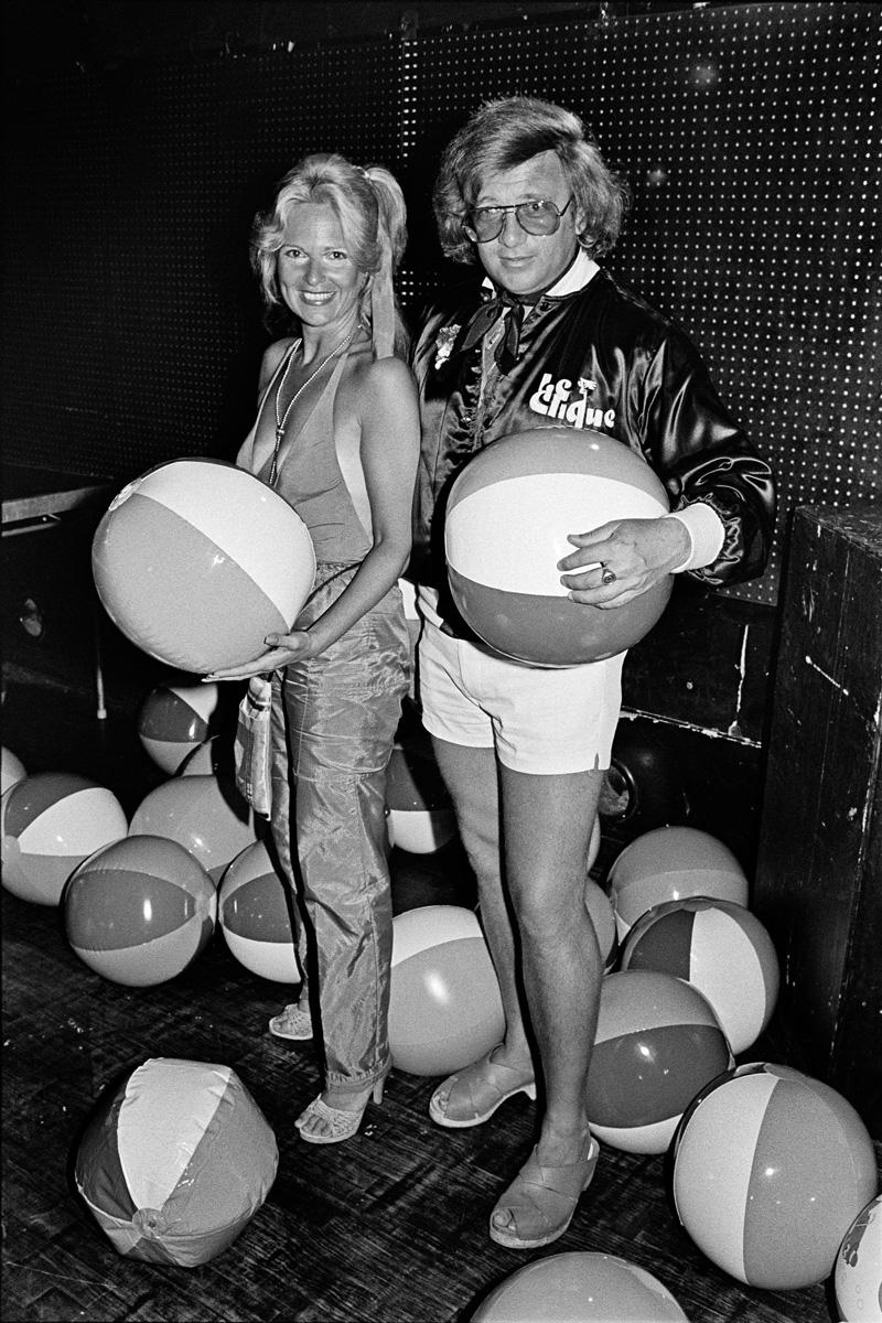 Marlene Backer and Stewart Feinstein of Le Clique, 1979