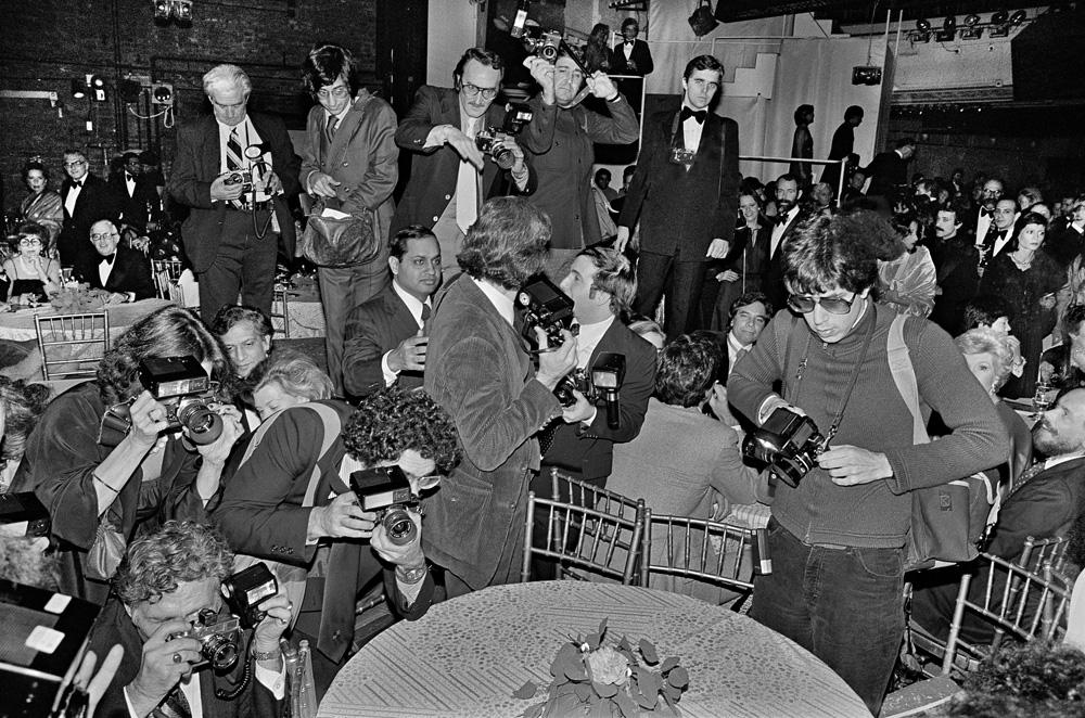 Paparazzi at Studio 54, 1977