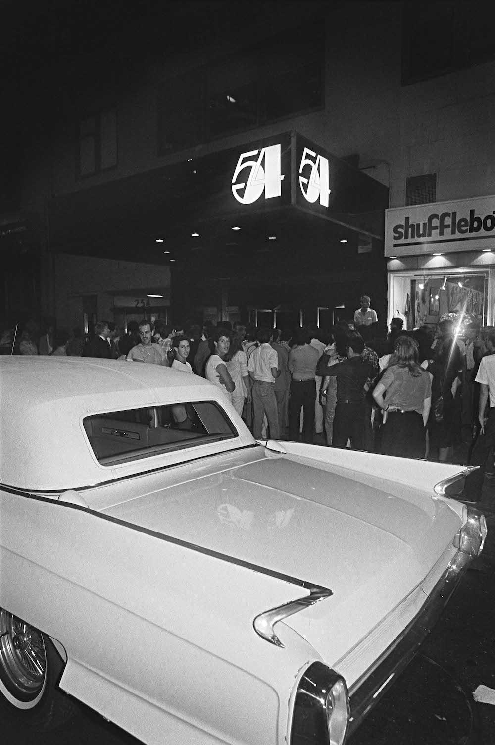 Studio 54 and Cadillac, 1979