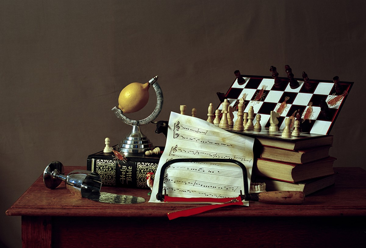 Chess - from the series 'Babble' by Conor Elliott
