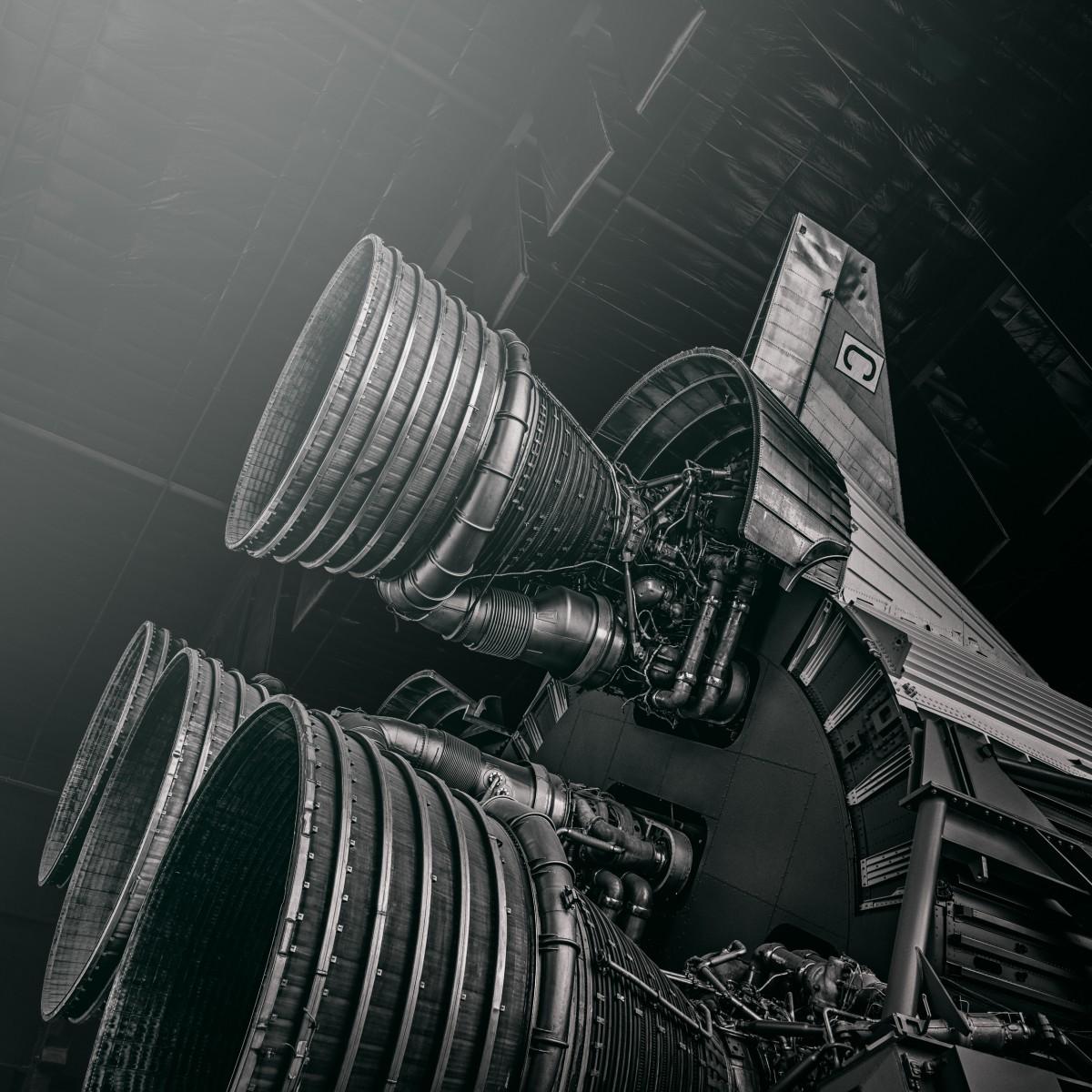 Saturn V #2 by Morgan Silk