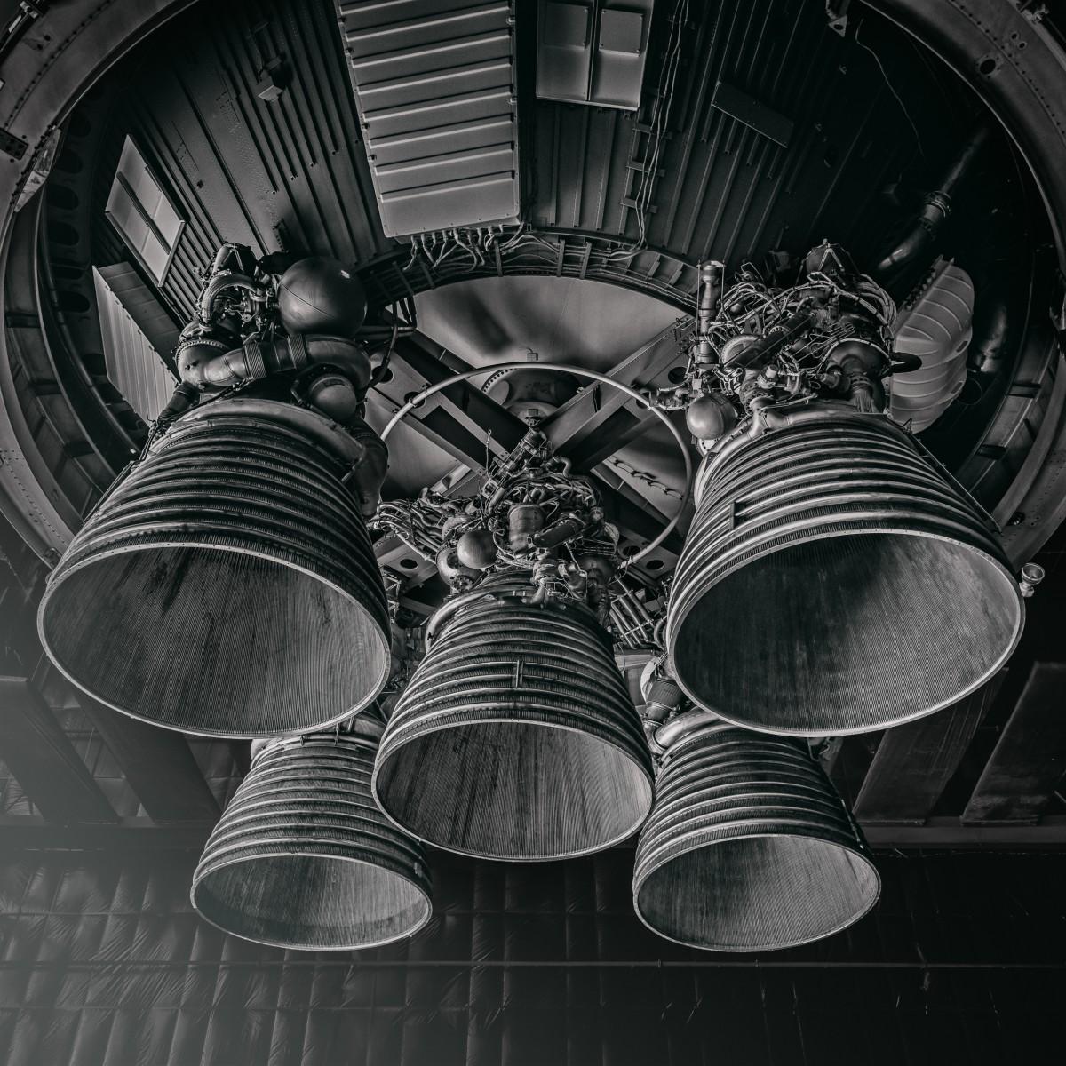 Saturn V #6 by Morgan Silk