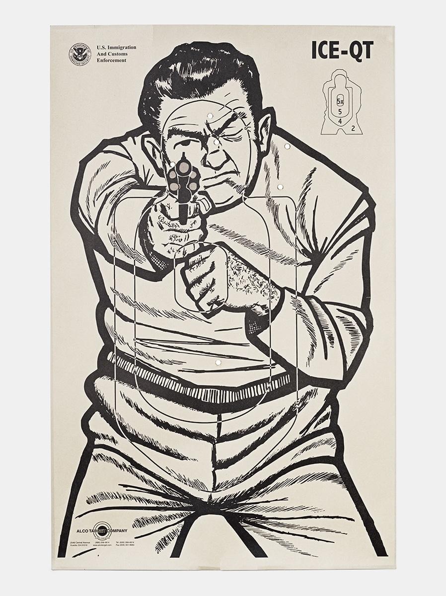 Target E, 2016, from the series L.A. Gun Club