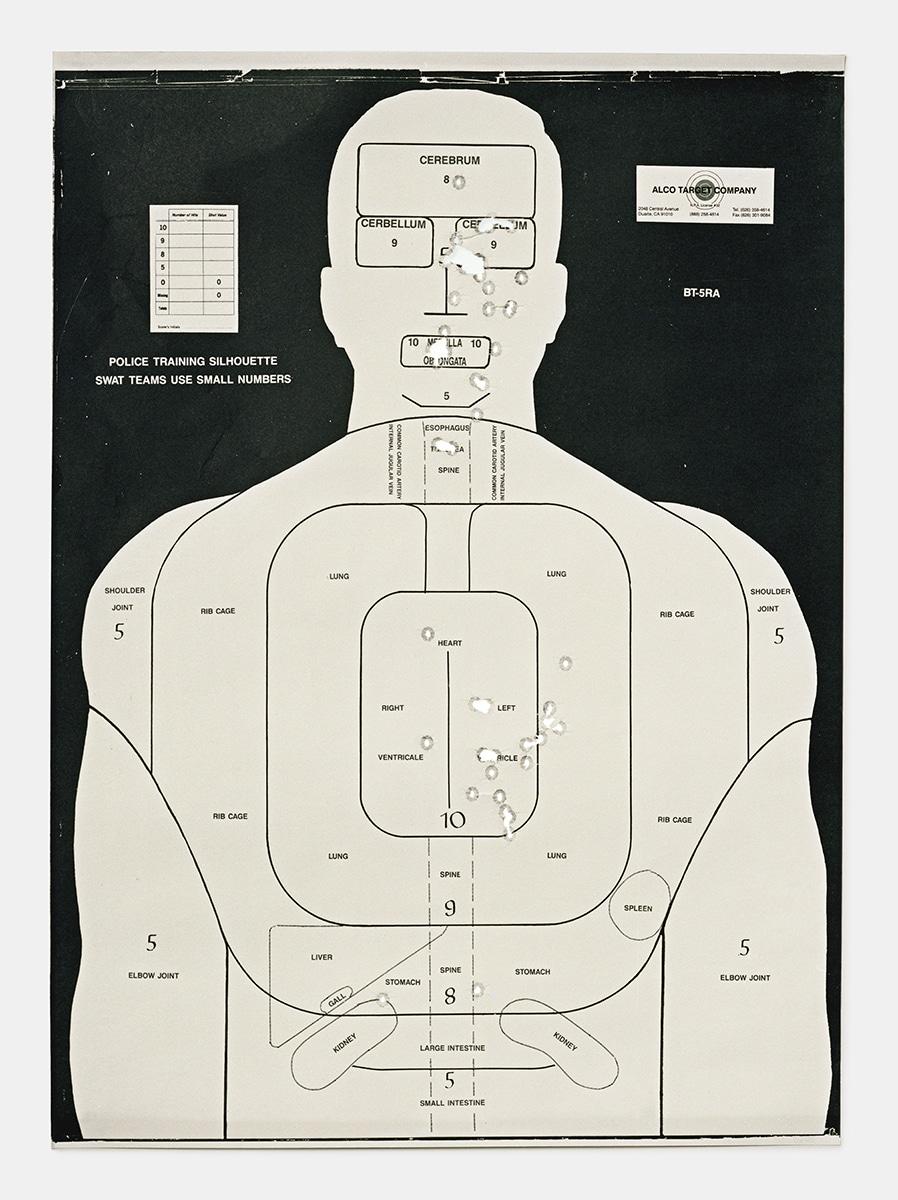 Target G, 2016, from the series L.A. Gun Club