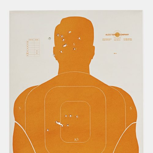 Target K, 2016, from the series L.A. Gun Club