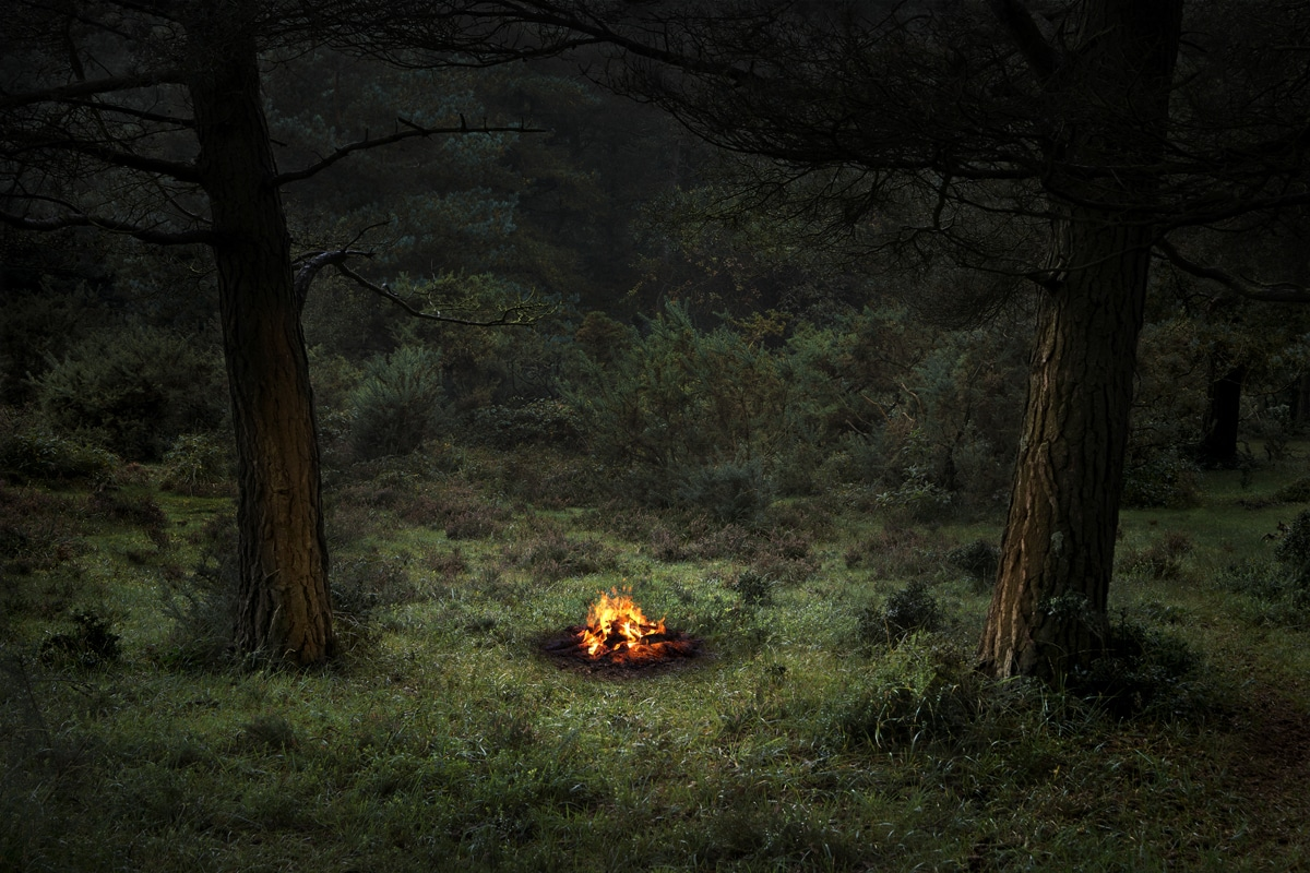 Fires 4, 2018 by Ellie Davies