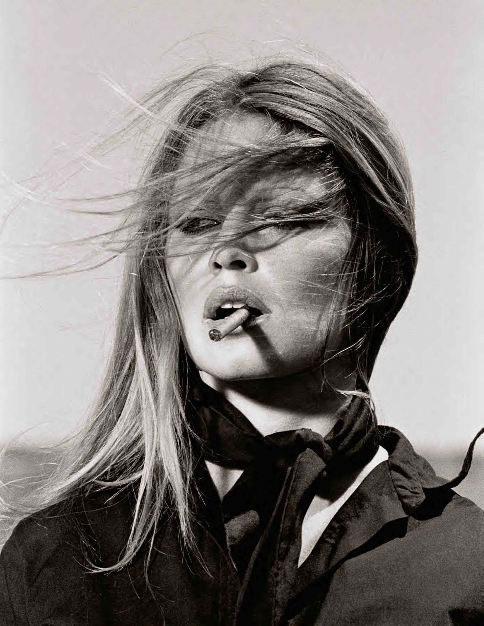 Bardot Smoking, 1971 by Terry O'Neill_Crane Kalman Brighton