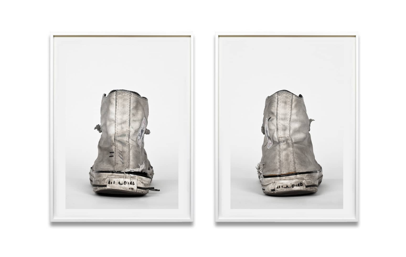 Converse, Silver Hi-Tops, 2012 by Michael Schachtner_Crane Kalman Brighton