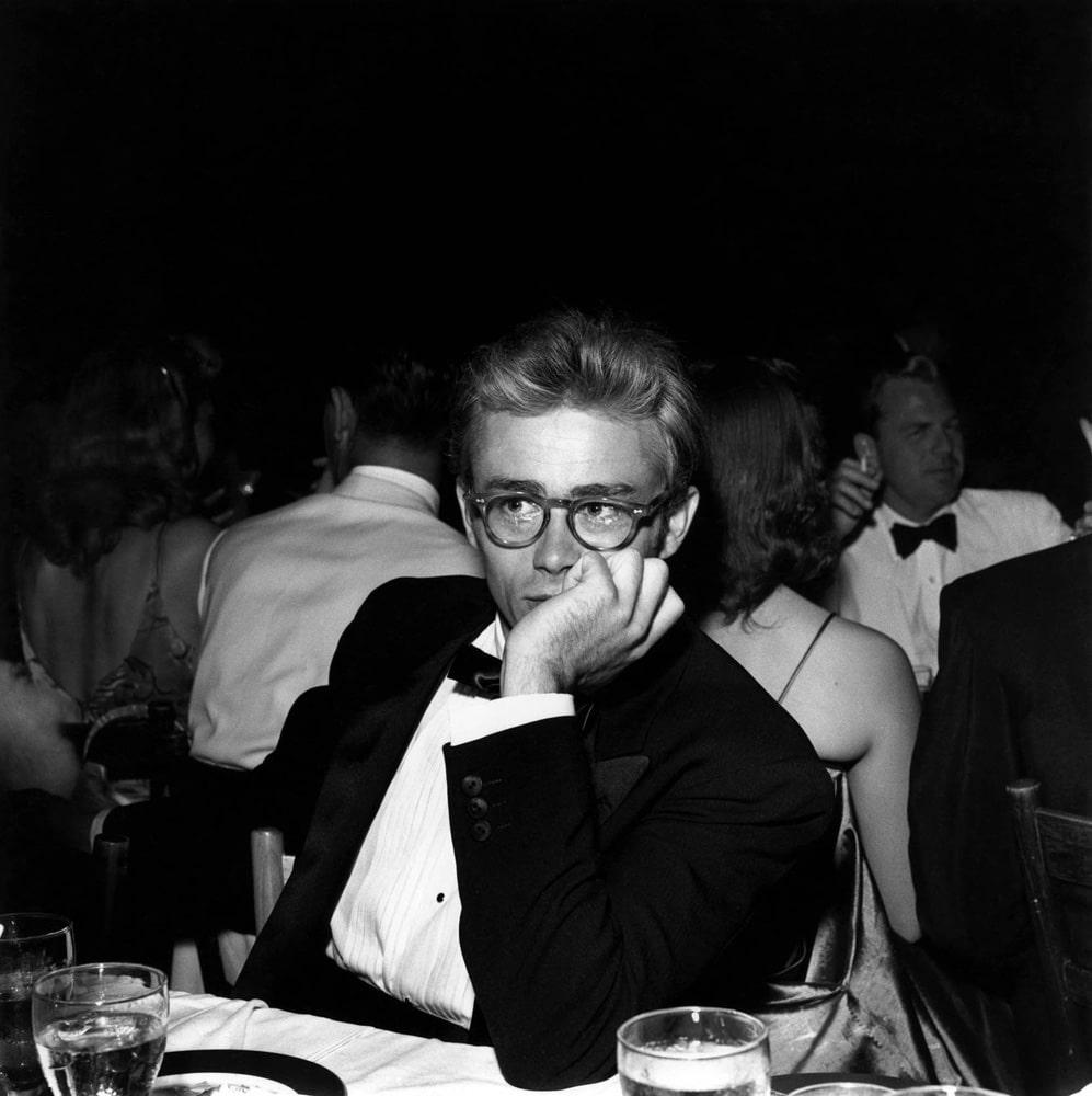 James Dean, Thalian Ball, 1955_Crane Kalman Brighton