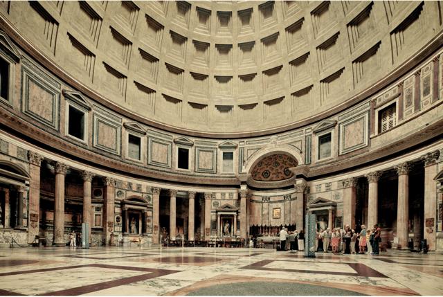 Pantheon, Rome, 2011 by Franck Bohbot_Crane Kalman Brighton
