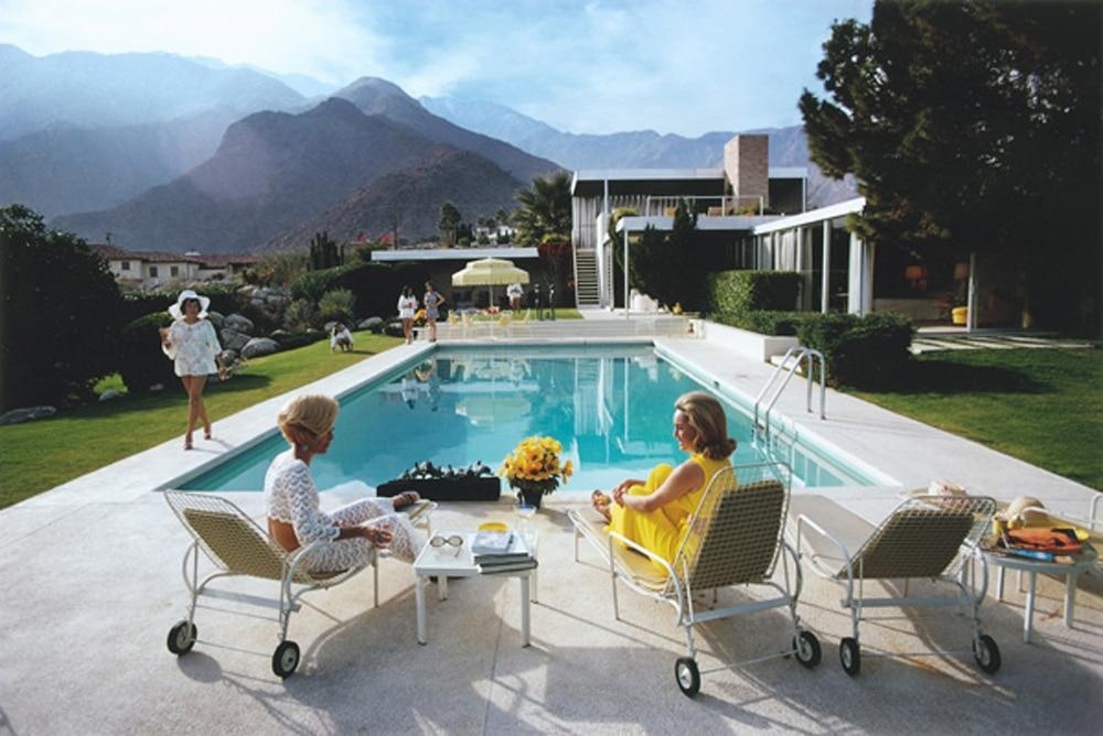 Poolside Gossip - Palm Springs, 1970 by Slim Aarons_Crane Kalman Brighton