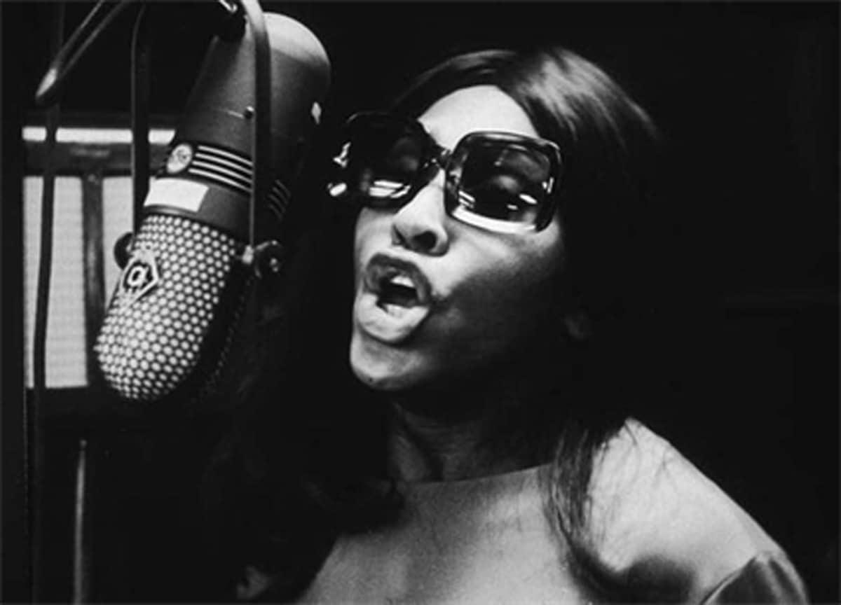 Tina Turner, L.A. recording studio,1961_Crane Kalman Brighton