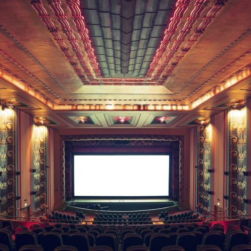 The Alameda Theatre I, Alameda, California, 2014 by Franck Bohbot